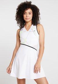 Lacoste Sport - TENNIS DRESS - Abbigliamento sportivo - white/black - 0