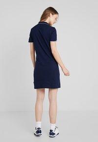 Lacoste Sport - GOLFDRESS - Jerseyklänning - navy blue - 2