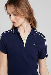 Lacoste Sport - GOLFDRESS - Jerseyklänning - navy blue - 4