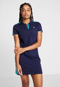 Lacoste Sport - GOLFDRESS - Abbigliamento sportivo - navy blue/cuba/white - 0