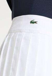 Lacoste Sport - TENNIS SKIRT - Sports skirt - white - 5