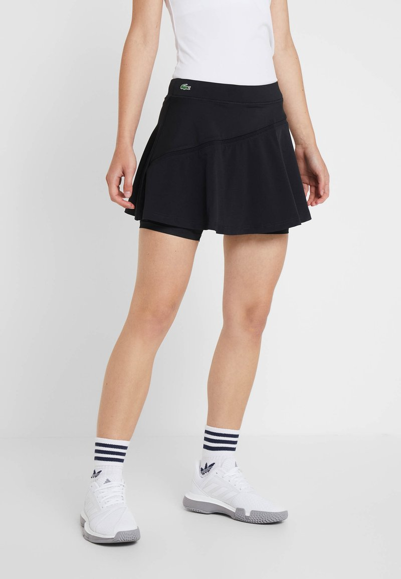 Lacoste Sport - TENNIS SKIRT - Sports skirt - black