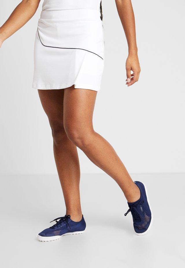 CLASSIC SKIRT - Spódnica sportowa - white/navy blue
