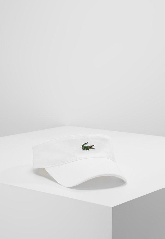 VISOR - Cap - white