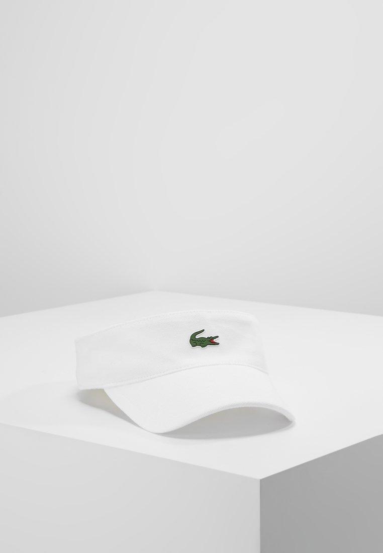 Lacoste Sport - VISOR - Gorra - white