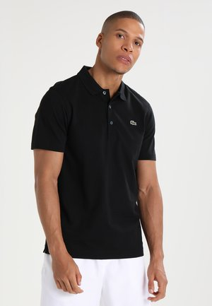 HERREN KURZARM - Polo shirt - black