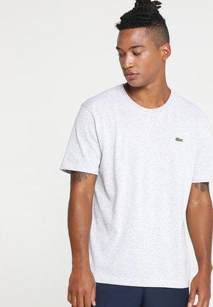 HERREN T-SHIRT - T-shirt basic - argent chine