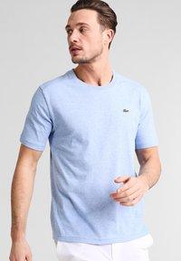 Lacoste Sport - HERREN T-SHIRT - T-shirt - bas - valerian chine - 0
