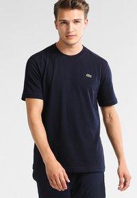 Lacoste Sport - CLASSIC - Camiseta básica - navy blue - 0