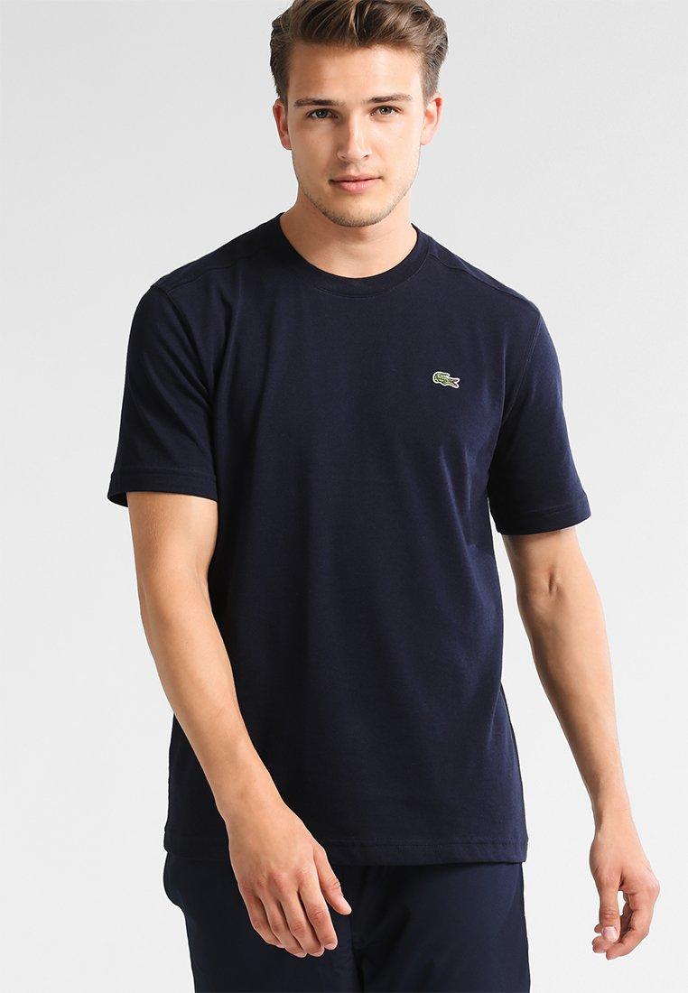 Lacoste Sport - HERREN - Basic T-shirt - navy blue