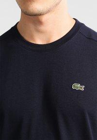 Lacoste Sport - CLASSIC - Camiseta básica - navy blue - 3