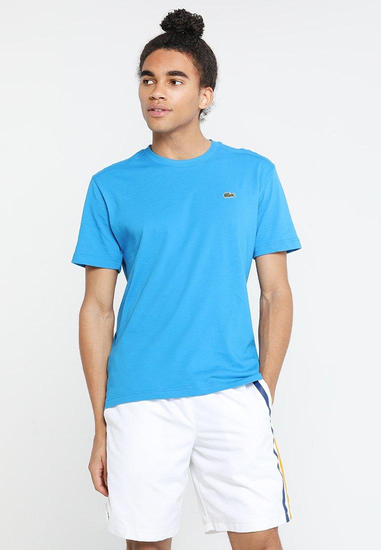 Lacoste Sport - CLASSIC - Camiseta básica - light blue/blue