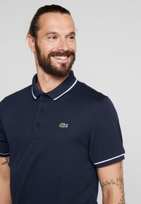 Lacoste Sport - Funktionsshirt - navy blue/white - 4