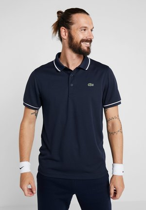 Sports shirt - navy blue/white