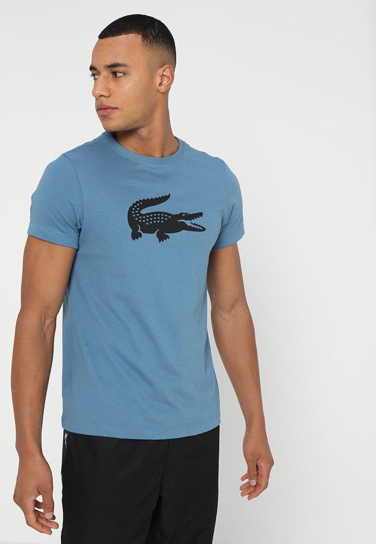Lacoste Sport - BIG LOGO - T-Shirt print - neottia/black