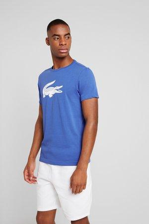 BIG LOGO - Camiseta estampada - obscurity/white
