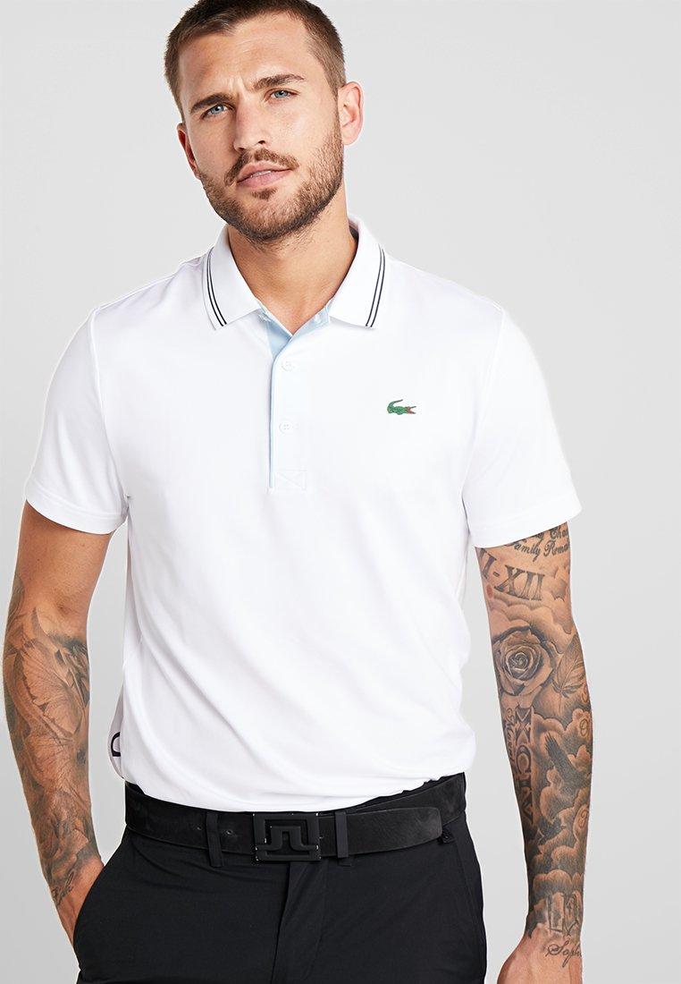 Lacoste Sport - Sports shirt - blanc/bleu marine