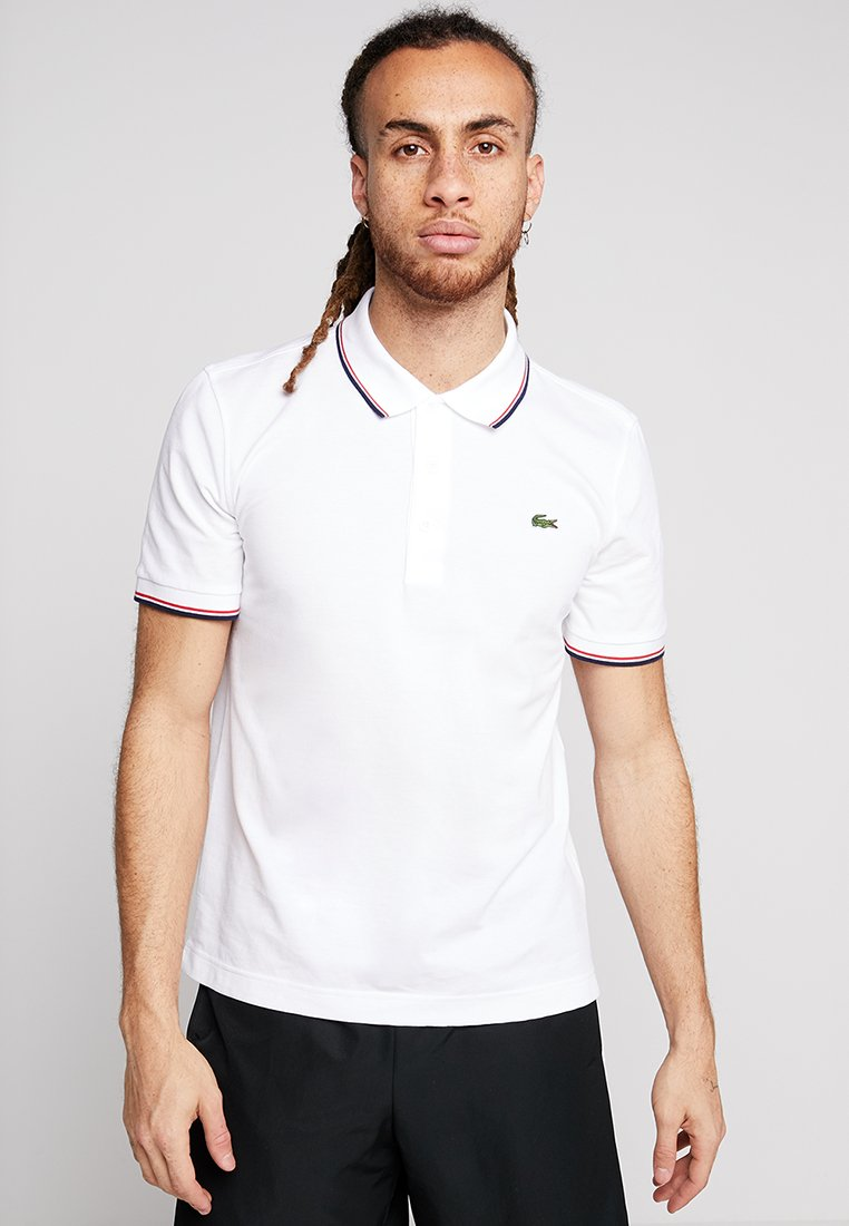 Lacoste Sport - KURZARM - Polo shirt - white