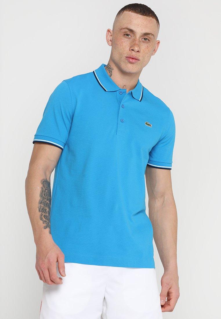 Lacoste Sport - KURZARM - Polo shirt - pratensis/navy blue/white