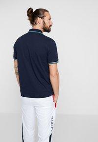 Lacoste Sport - KURZARM - Poloshirt - navy blue/ivy white - 2