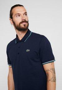 Lacoste Sport - KURZARM - Poloshirt - navy blue/ivy white - 3