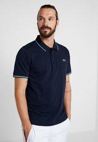 Lacoste Sport - KURZARM - Poloshirt - navy blue/ivy white - 0