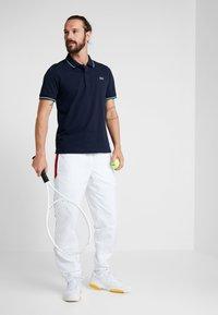 Lacoste Sport - KURZARM - Poloshirt - navy blue/ivy white - 1