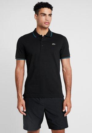 KURZARM - Poloshirt - black