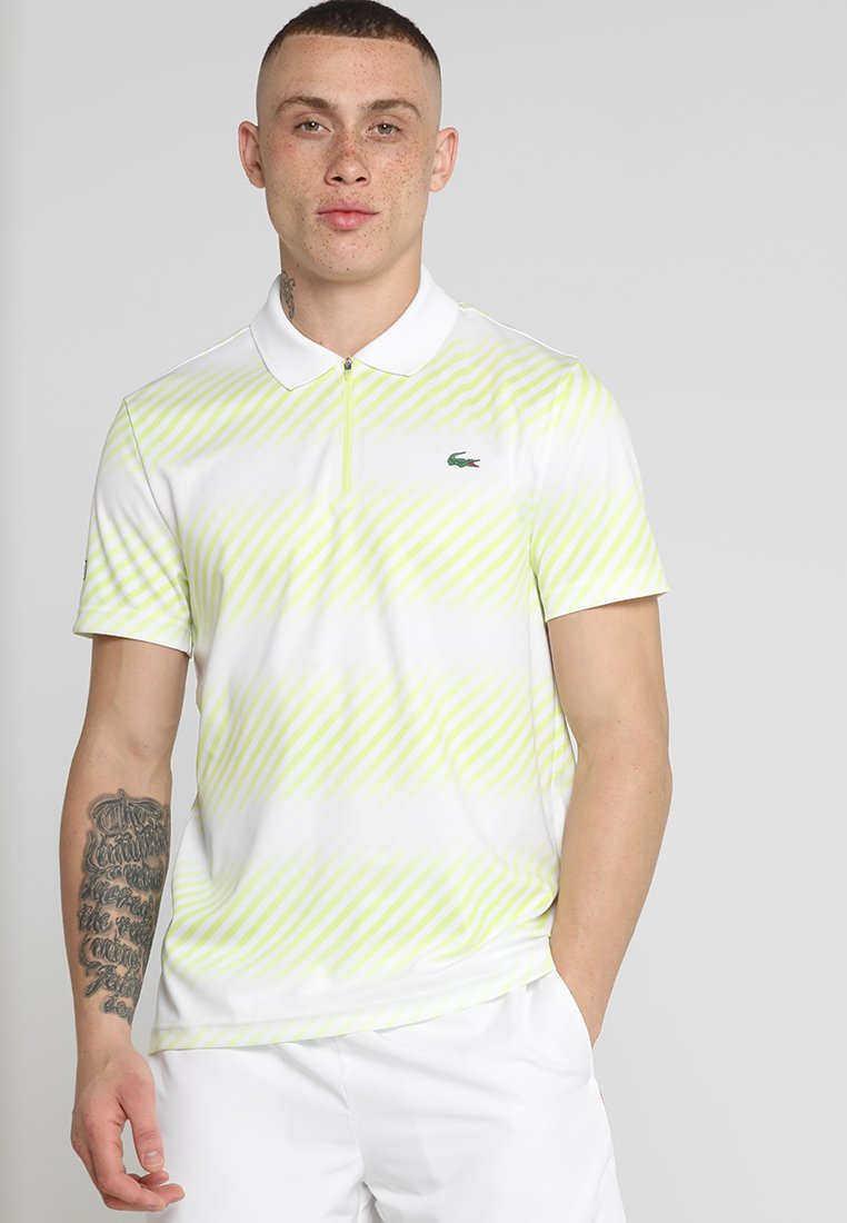 Lacoste Sport - AUSTRALIAN OPEN DH3442 - Polo shirt - white/white-limeira-black
