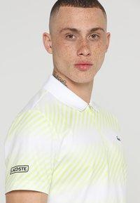 Lacoste Sport - AUSTRALIAN OPEN DH3442 - Polo shirt - white/white-limeira-black - 3