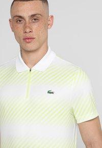 Lacoste Sport - AUSTRALIAN OPEN DH3442 - Polo shirt - white/white-limeira-black - 5