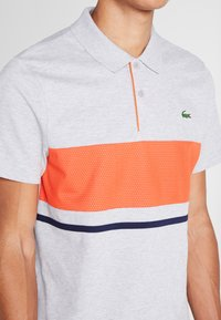 Lacoste Sport - Poloshirt - argent chine/mexico marin - 4