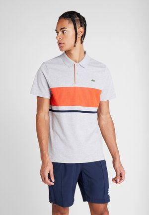 Polo shirt - argent chine/mexico marin