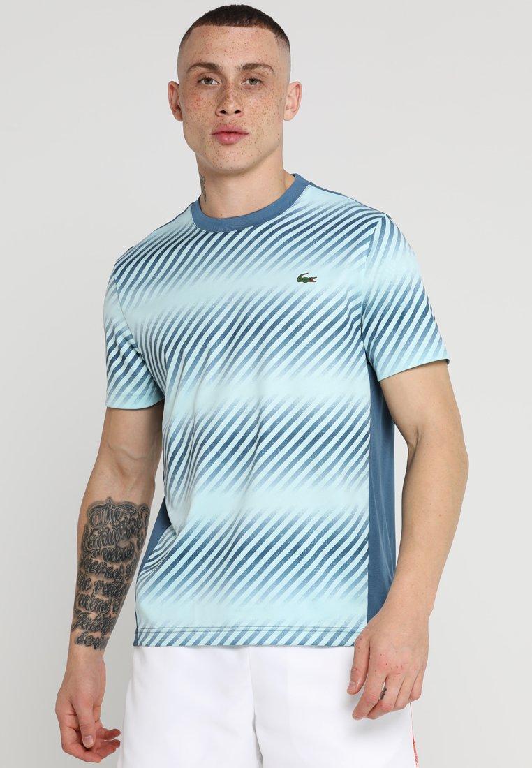 Lacoste Sport - Print T-shirt - neottia/aquarium