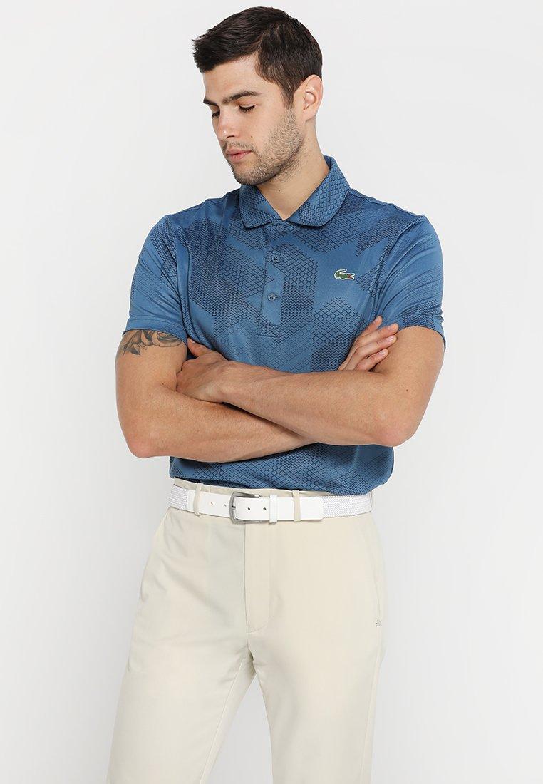 Lacoste Sport - GOLF GRAPHIC - Sports shirt - neottia/navy blue