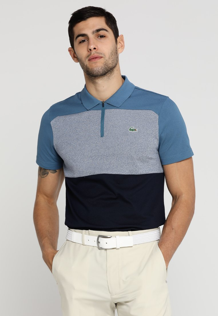 Lacoste Sport - GOLF - Polo shirt - neottia/light indigo blue/navy blue