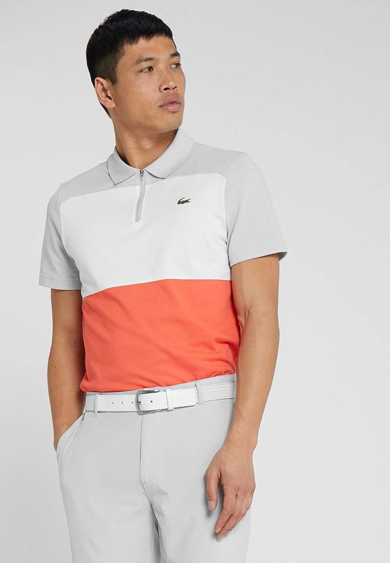Lacoste Sport - GOLF - Polo shirt - calluna/white-mango tree red
