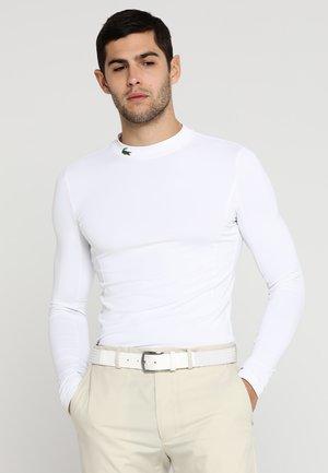 GOLF PERFORMANCE LONG SLEEVE  - Sportshirt - white