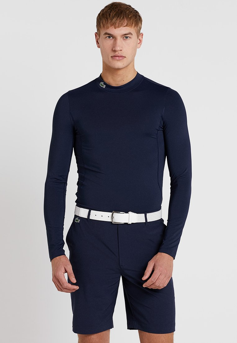 Lacoste Sport - GOLF PERFORMANCE LONG SLEEVE  - Maglietta a manica lunga - navy blue