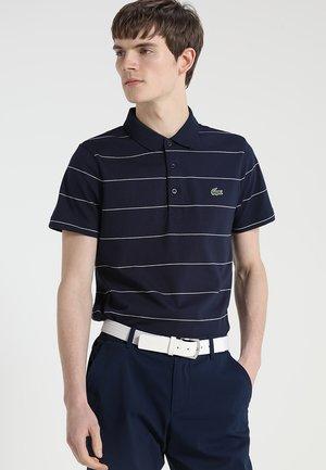 Koszulka polo - navy blue/white