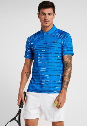 TENNIS DJOKOVIC - T-shirt sportiva - nattier blue/navy blue white