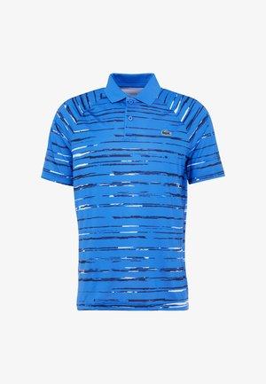TENNIS POLO DJOKOVIC - Poloshirt - nattier blue/navy blue white