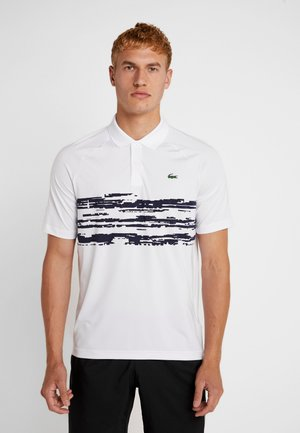 TENNIS DJOKOVIC - Funktionsshirt - white/navy blue