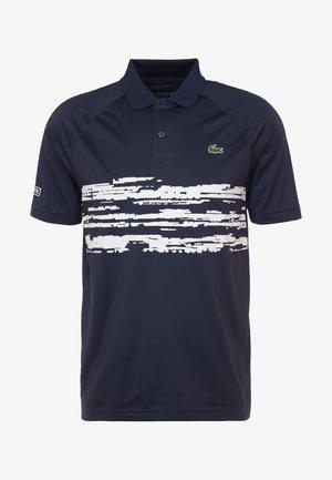 TENNIS POLO DJOKOVIC - Poloshirt - navy blue/white