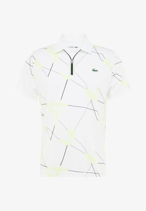 TENNIS GRAPHIC - Pikeepaita - white