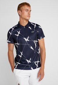 Lacoste Sport - TENNIS GRAPHIC - Poloskjorter - navy blue/white - 0