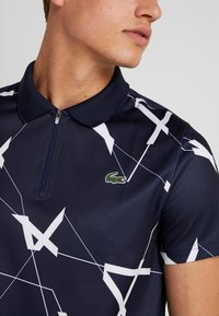 Lacoste Sport - TENNIS GRAPHIC - Poloskjorter - navy blue/white - 3