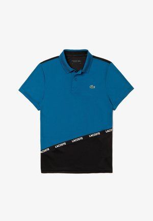 TENNIS TAPERED - Polo - blue/black