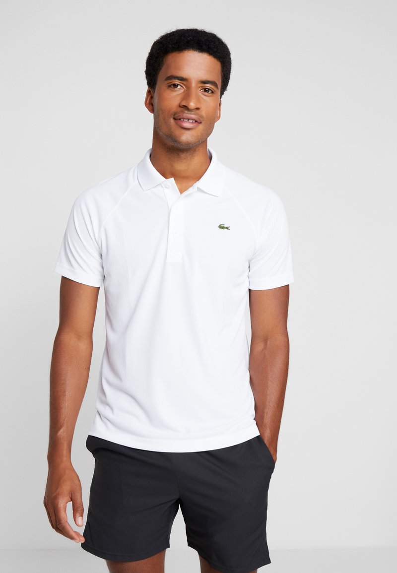 Lacoste Sport - TENNIS - T-shirt sportiva - white