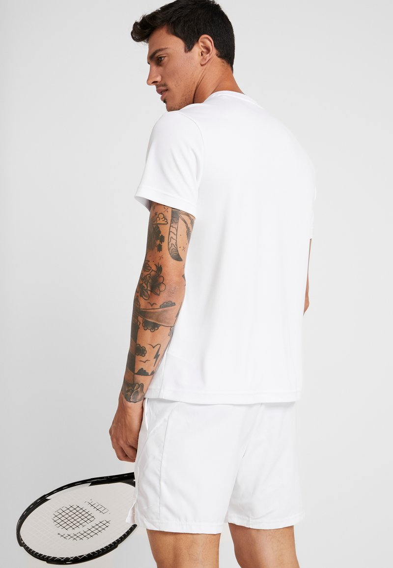Black shirt Sport TennisT Imprimé Lacoste White illumination MSUzVp